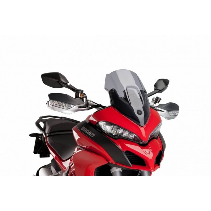Puig Light Smoke Sport windscreen Ducati Multistrada