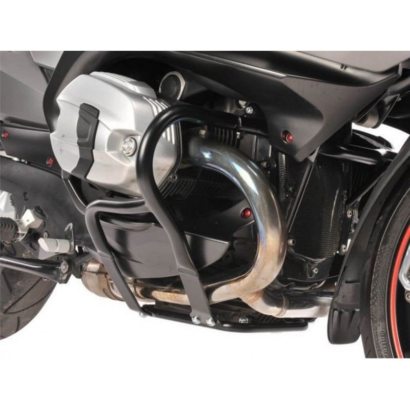 Wunderlich Black engine crash bars BMW R1200RT 05-13