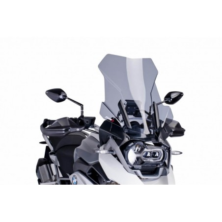 Puig Light Smoke Touring Windscreen BMW R1200GS LC