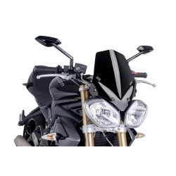Puig Black windscreen Triumph 1050 Speed Triple 11-15