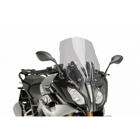 Puig Light Smoke tall touring windscreen BMW R1200RS