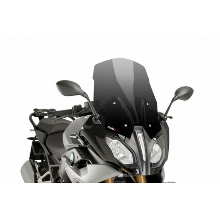 Puig Dark Smoke tall touring windscreen BMW R1200RS