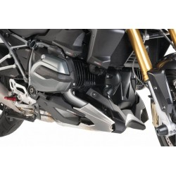 Puig Black engine spoiler belly pan BMW R1200R RS LC