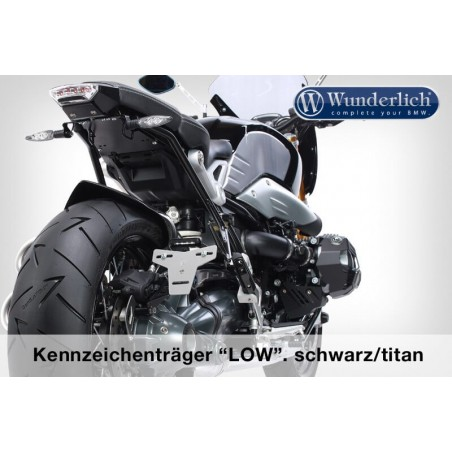 Wunderlich LOW licence plate holder BMW NineT
