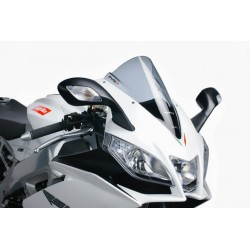 Puig light smoke Racing wind screen Aprilia RSV4