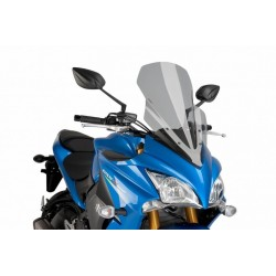 Puig Light Smoke Touring windscreen Suzuki GSX-S1000 F