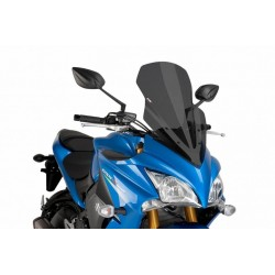 Puig Dark Smoke Touring windscreen Suzuki GSX-S1000 F