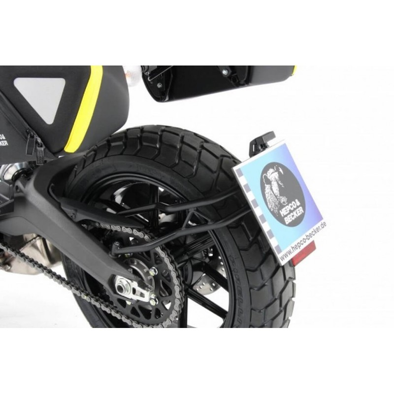 Hepco & Becker licence plate holder for Ducati Scrambler Beautifull...