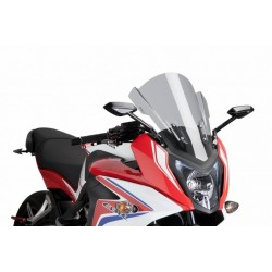 Puig Light Smoke Touring windscreen Honda CBR 650F