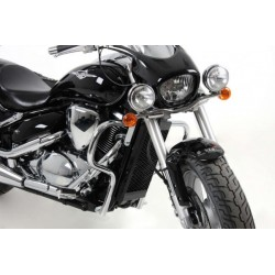 Hepco Becker Chrome engine crash bars Suzuki 800 Intruder