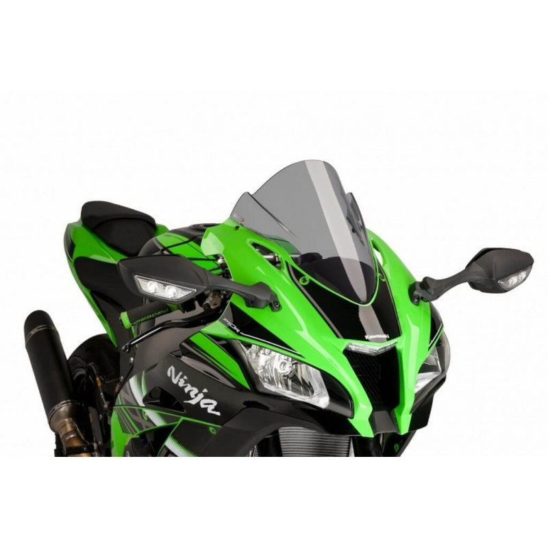 Puig Light Smoke Racing Screen Kawasaki ZX10R 16-