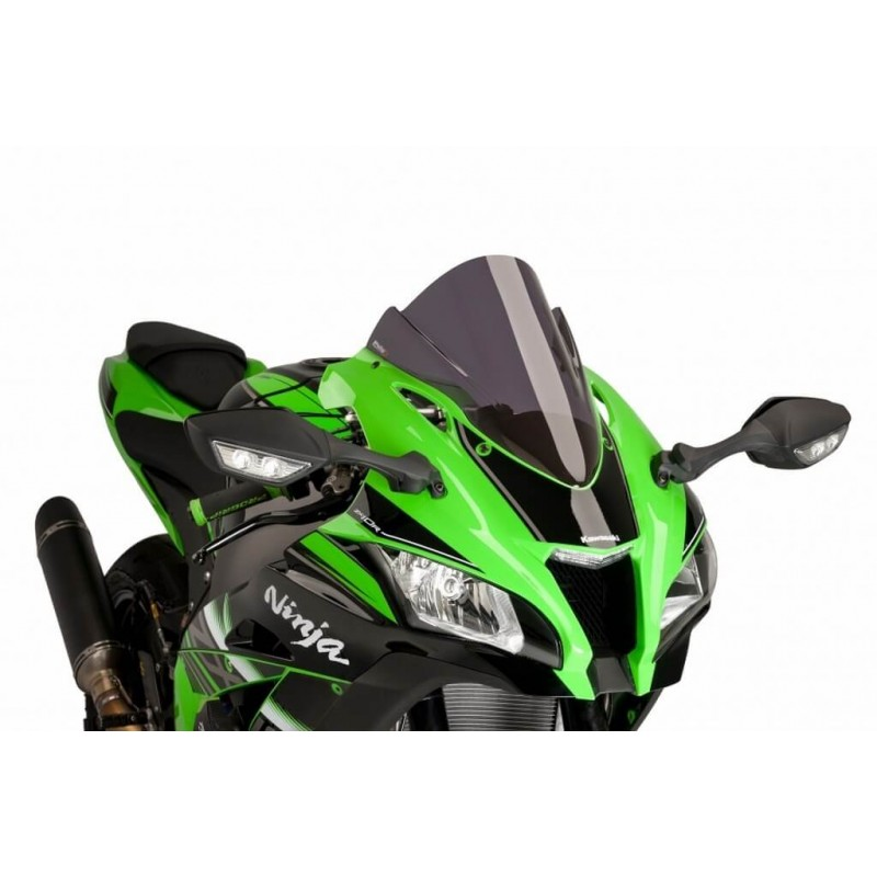Puig Dark Smoke Racing Screen Kawasaki ZX10R 16-