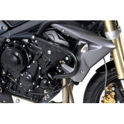 Hepco Becker engine guards crash bars Triumph Street Triple