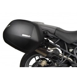 SHAD SH36 Carbon sidecases set Triumph 800 Tiger