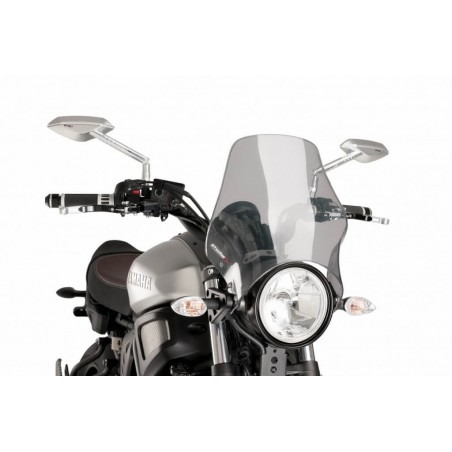 Puig Light Smoke windshield screen Yamaha XSR 700
