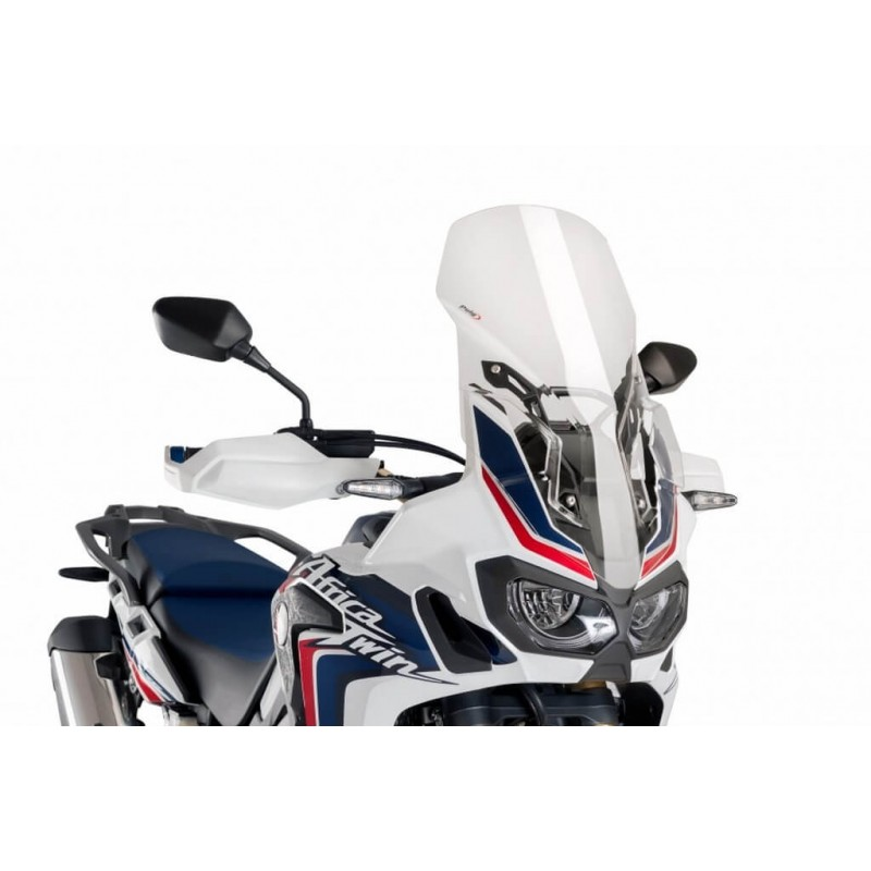Puig Clear Touring windscreen Honda CRF1000L Africa Twin