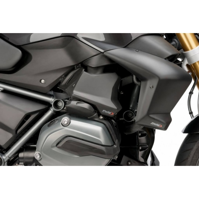 Puig Black injection covers set BMW R1200R LC