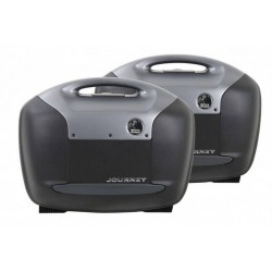 Hepco & Becker Journey Anthracite 42L sidecases set