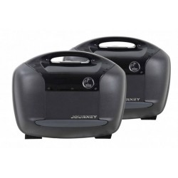 Hepco & Becker Journey Black 42L sidecases set
