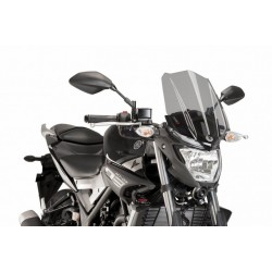 Puig Light Smoke Windscreen Yamaha MT-03 2016