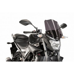 Puig Dark Smoke Windscreen Yamaha MT-03 2016