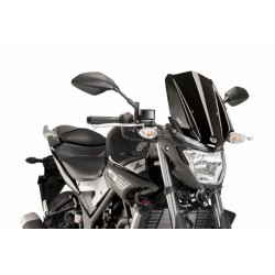 Puig Black Windscreen Yamaha MT-03 2016