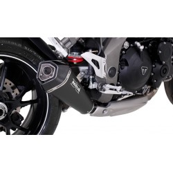 Remus Hexacone Black Exhaust Muffler Triumph Speed Triple 2016