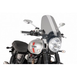 Puig Custom Touring windshield screen Triumph Street Twin