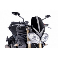 Puig Black windscreen Triumph 675 Street Triple 11-16