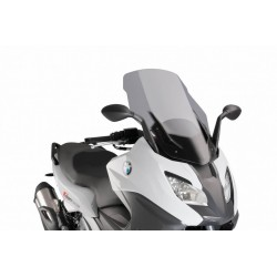 Puig Light Smoke Touring windscreen BMW C650 Sport