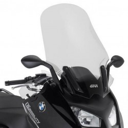 Givi tall Touring screen with hand deflectors BMW C650 Sport