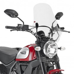 Givi Clear Touring screen Ducati Scrambler