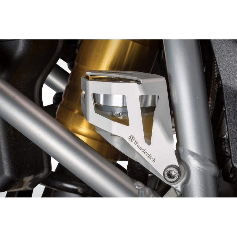 Wunderlich silver brake fluid reservoir guard BMW R1200GS LC