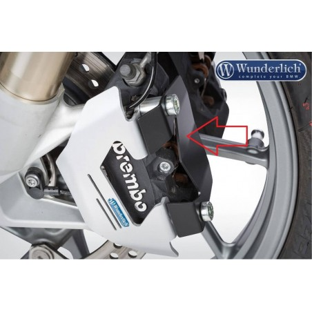 Wunderlich front brake calliper dirt tap black BMW R1200GS LC