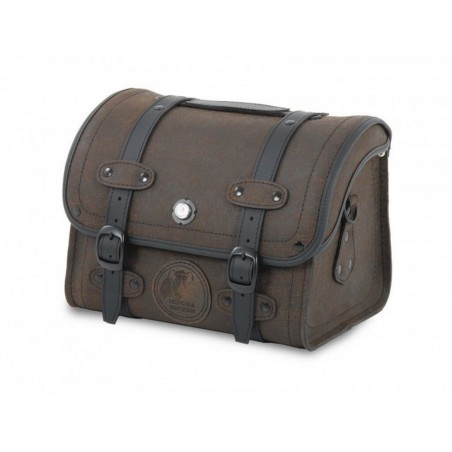 Hepco & Becker Rugged 25L Brown Leather Rack Bag