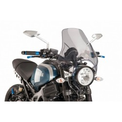 Puig Plus Light Smoke windshield Yamaha XSR 900