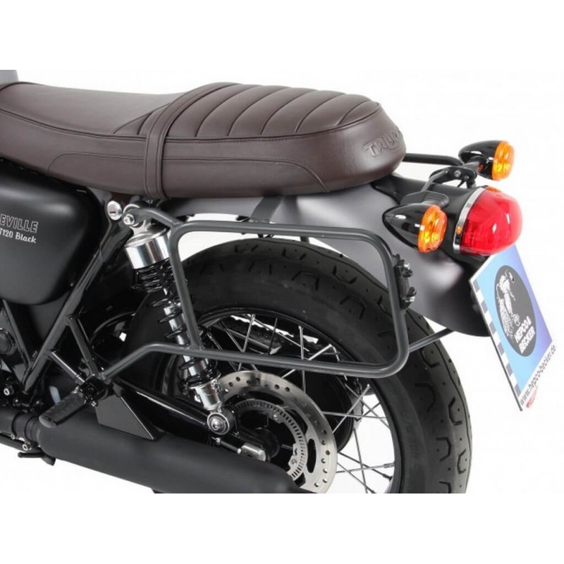 Hepco & Becker luggage side carrier Triumph Bonneville T120