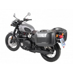 Hepco & Becker Journey Anthracite 42L sidecases Bonneville T120
