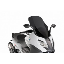 Puig Dark Smoke Touring windscreen BMW C650 Sport 2016