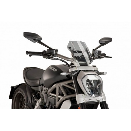 Puig Light Smoke Sport windscreen Ducati X-Diavel