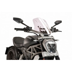 Puig Clear Touring windscreen Ducati X-Diavel