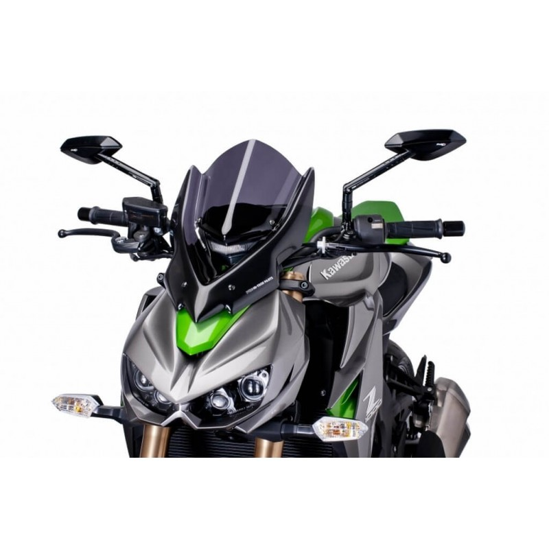 Puig Dark Smoke Touring Windshield Kawasaki Z1000