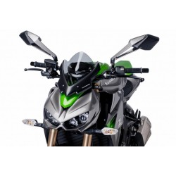 Puig Light Smoke Sport Windscreen Kawasaki Z1000 14-15