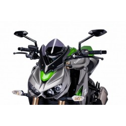 Puig Dark Smoke Sport Windscreen Kawasaki Z1000 14-15
