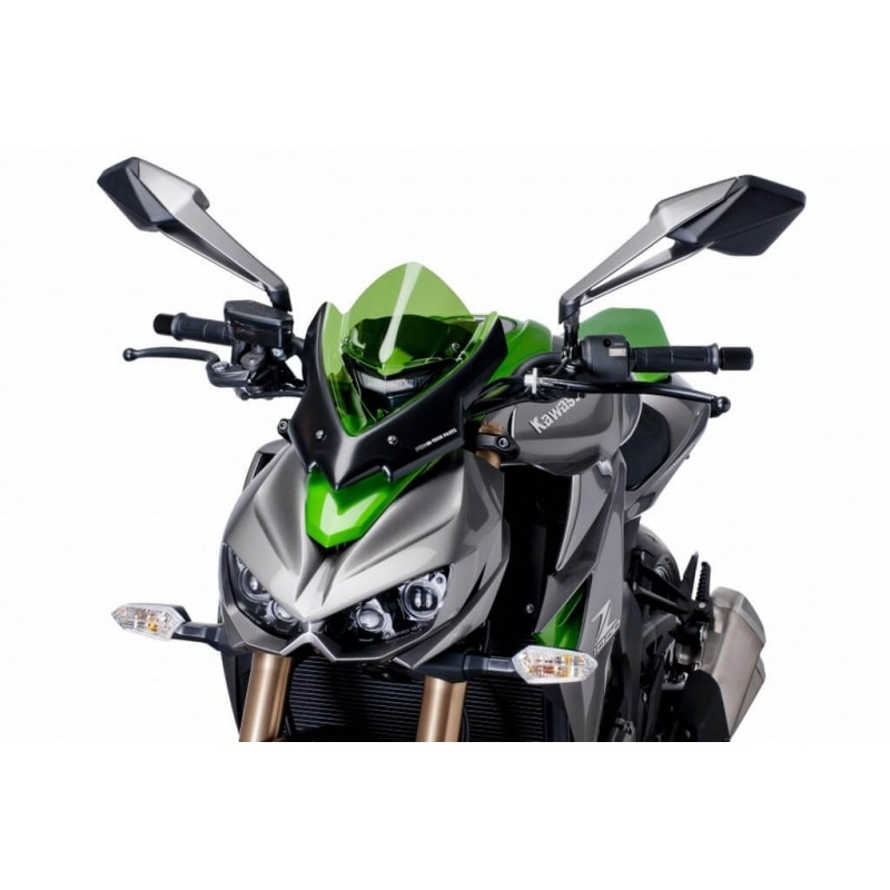 Puig Green Sport Windscreen Kawasaki Z1000 14-19