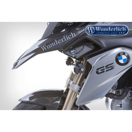 Wunderlich micro flooter LED lights BMW R1200GS LC
