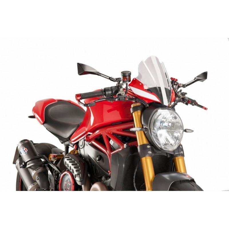 Puig Clear Sport Windscreen Ducati Monster 1200 R