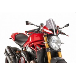 Puig Light Smoke Sport Windscreen Ducati Monster 1200 R