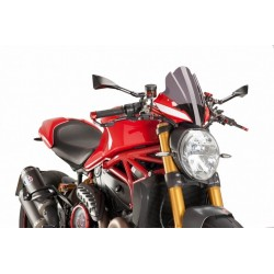 Puig Dark Smoke Sport Windscreen Ducati Monster 1200 R