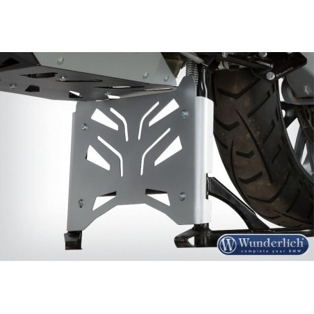 Wunderlich Silver center stand protection plate BMW R1200GS LC